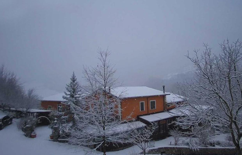 vecchia fattoria inverno